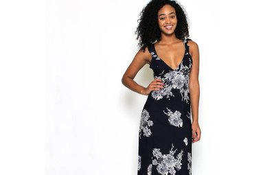 TAMPA TIE-BACK MAXI DRESS