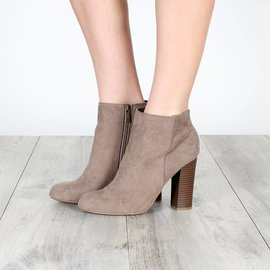DUCHESS HEELED BOOTIE