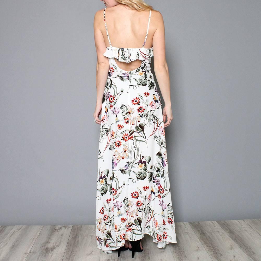 HERMOSA FLORAL MAXI DRESS