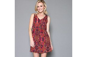 WILLA PRINTED DRESS