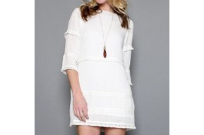 BOHO CHIC SHIFT DRESS