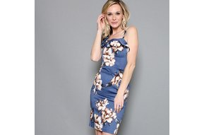 MADDIE BODYCON FLORAL DRESS