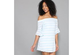 ISLA OFF THE SHOULDER DRESS