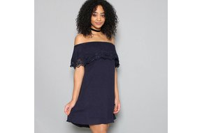 MARIETTA OFF THE SHOULDER DRESS