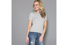 SUPER SOFT SHORT SLEEVE SWEATER