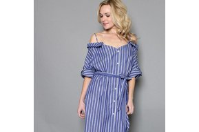 HAMPTON RECONSTRUCTED OXFORD DRESS