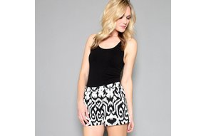 CHRISSY IKAT PRINTED SHORTS