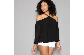 MAYA OPEN SHOULDER TOP