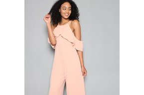MINDY COLD SHOULDER JUMPSUIT