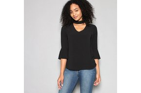 MAYFAIR CHOKER NECK TOP