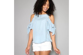 AUGUSTA COLD SHOULDER TOP