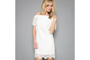 MONICA LACE SHIFT DRESS