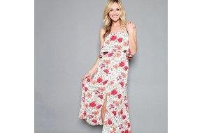 CAROLINA FLORAL MAXI DRESS