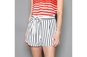 HILARY STRIPED SHORTS