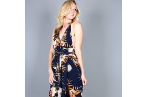 SIENNA HALTER MAXI DRESS
