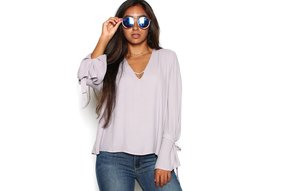 CLAUDIA BELL SLEEVE BLOUSE