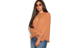 GINA SURPLICE TOP