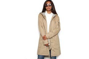 SHAY OVERSIZED KHAKI JACKET