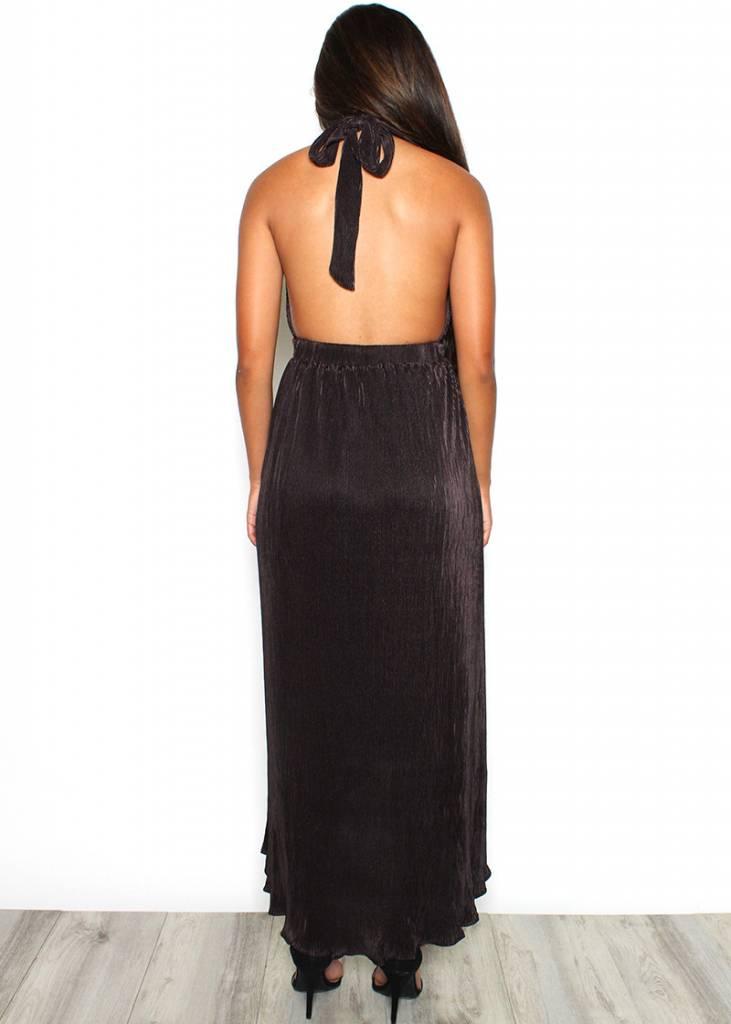 MARTA HALTER DRESS