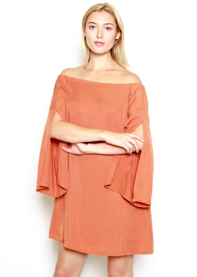 NEVADA OFF THE SHOULDER DRESS
