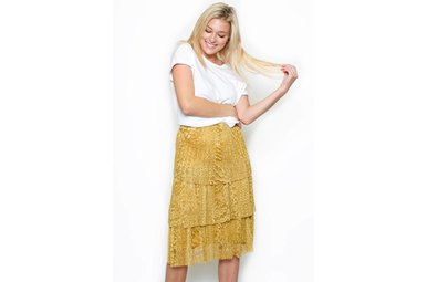 MINDY TIERED SKIRT