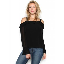 MAURA COLD SHOULDER TOP