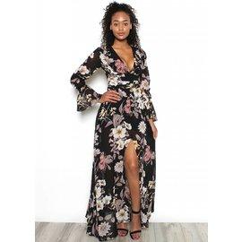 JASMINE FLORAL MAXI DRESS