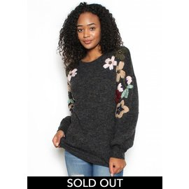 JADE EMBROIDERED SWEATER