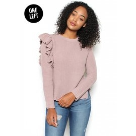 REGINA RUFFLE SWEATER