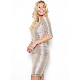 GRACE METALLIC DRESS