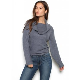 COURTNEY COWL NECK SWEATER