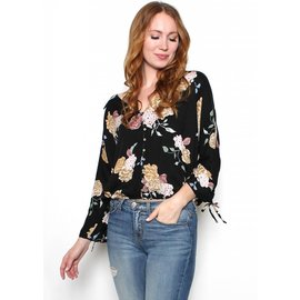 AYRIE FLORAL TOP