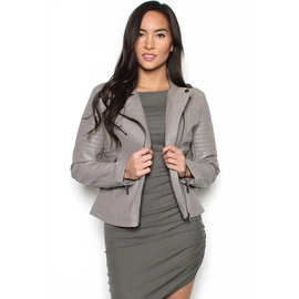 QUINN QUILTED LEATHER JACKET