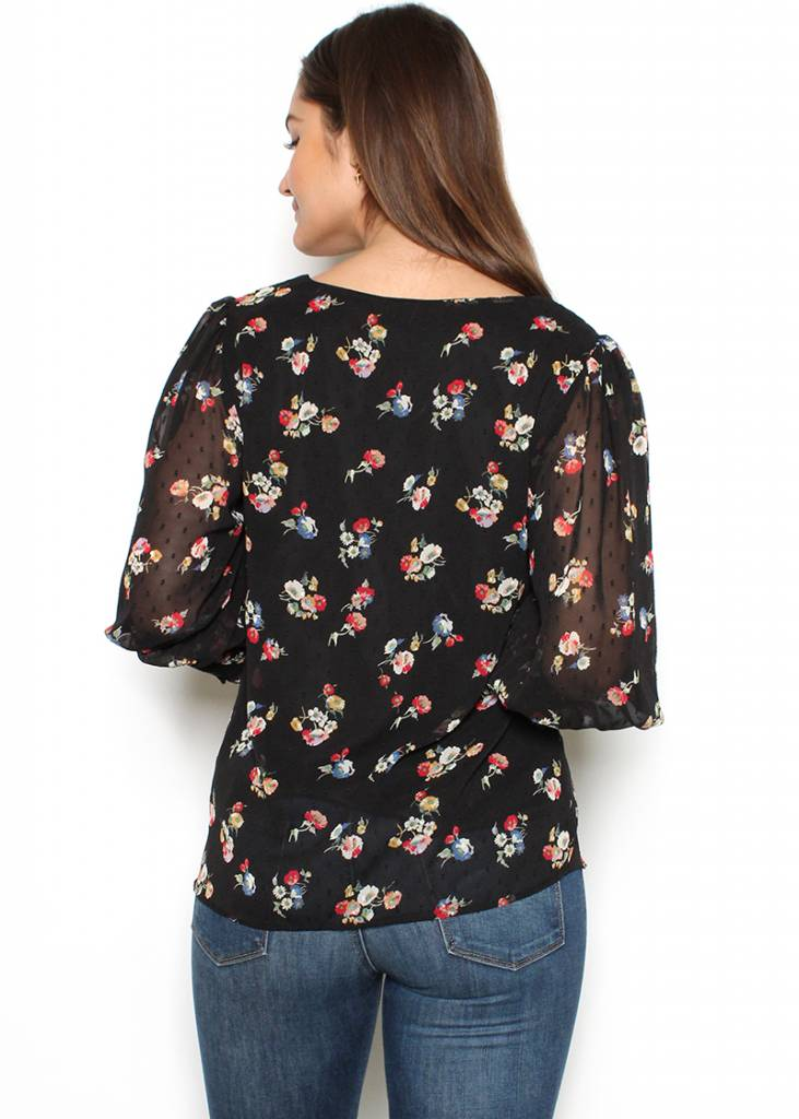 KENDAL FLORAL TOP