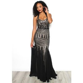 ISABELLA SEQUIN GOWN