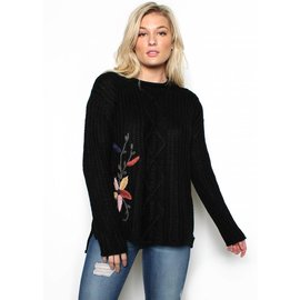ERICA EMBROIDERED SWEATER