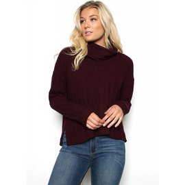 EMILY COWL NECK SWEATER