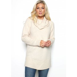 KACEY COWL NECK SWEATER