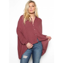 SIERRA HIGH LOW BUTTON UP
