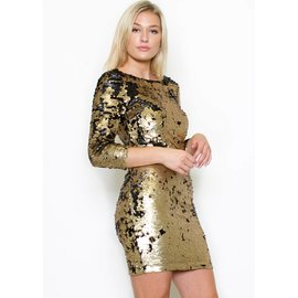 HALSEY SEQUIN DRESS