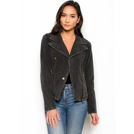 NIKITA BLACK DENIM JACKET