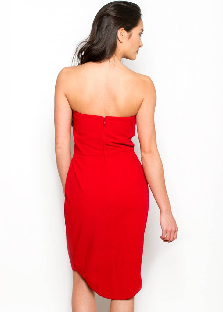 ANSLEY STRAPLESS DRESS