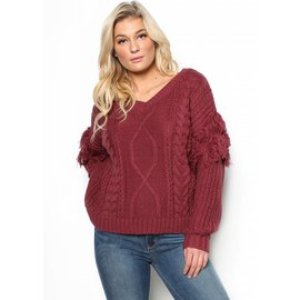 SOFIA CHUNKY KNIT SWEATER