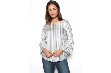 ROWAN STRIPED TOP
