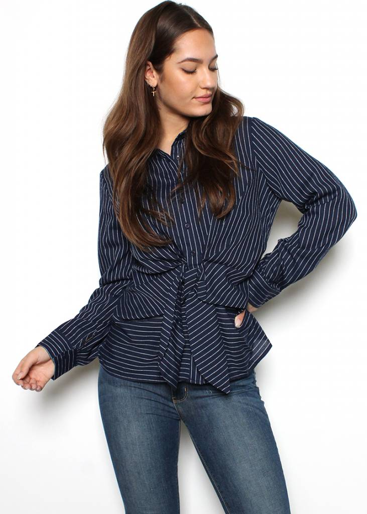 HAVEN BUTTON UP BLOUSE
