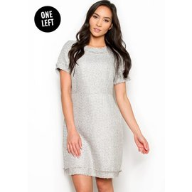 ROSE TWEED SHEATH DRESS