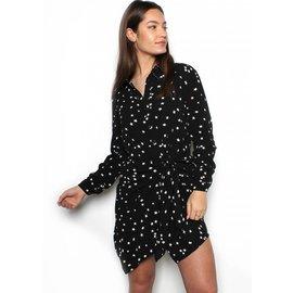STAR CROSSED SHIRT DRESS