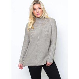 MARISSA MOCK NECK SWEATER