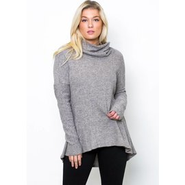 TAYLOR COWL NECK TUNIC
