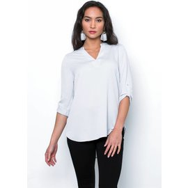 SERENA V-NECK BLOUSE